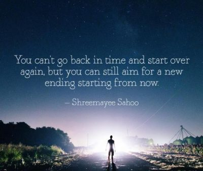 Inspirational Quote About Go Back In Time