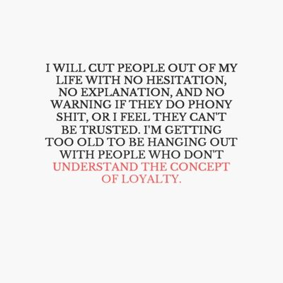 Inspirational Quotes About Cutting Off People
