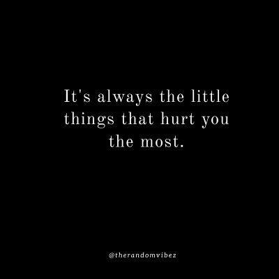 It's always the little things quotes
