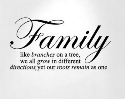 Keeping Family First Sayings