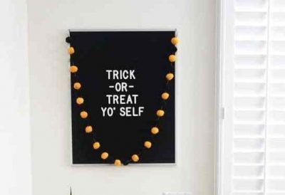 Letter Board Halloween Quotes