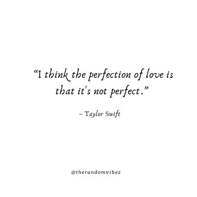 Love is Not Perfect Quotes Images