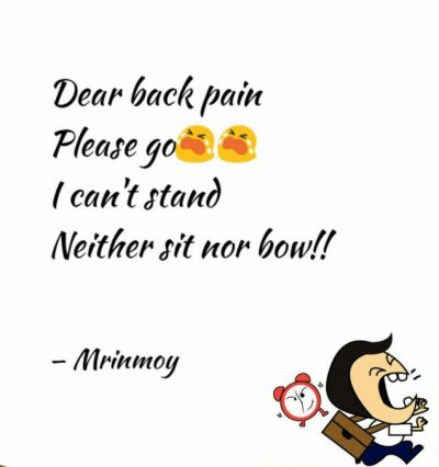 Lower Back Pain Picture Quotes
