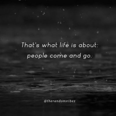 Many People Come and Go Quotes