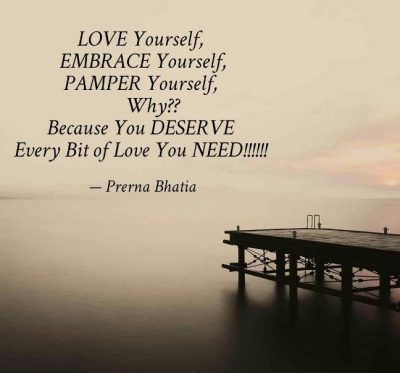 Pamper Yourself Quotes