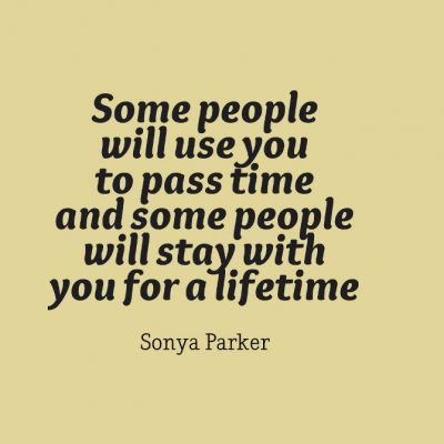 People Use You Quotation