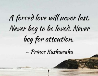 Picture Quotes About Forced Love