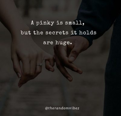 Pinky Promise Quotes About Love