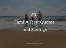 Quotes On Putting Family First