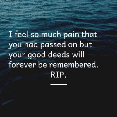 RIP Quotes For Friend