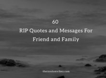 RIP Quotes and Messages Friend