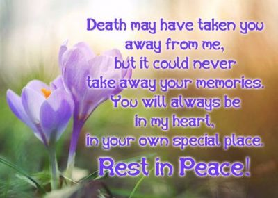 RIP Sayings For Friend