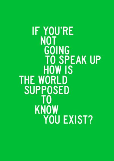 Speaking Out Quotations