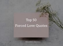 Top Forced Love Quotes