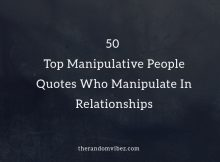 Top Manipulative People Quotes