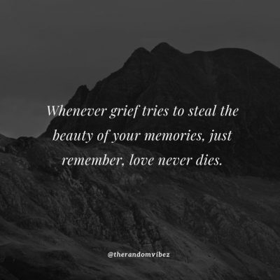 Uplifting Grief Quotes Pictures