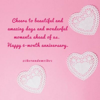 6 Month Anniversary Friendship Quotes