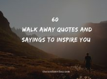 60 Best Walk Away Quotes And Sayings