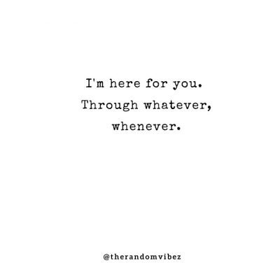 Always There For You Quotes