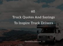 Best Truck Quotes And Sayings