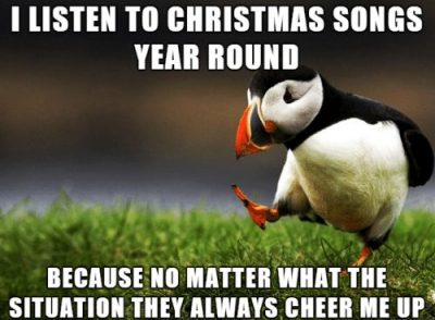 Cheer Up Because It's Christmas