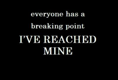 Deep Breaking Point Quotes