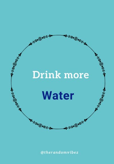 Drink Water Quotes Images