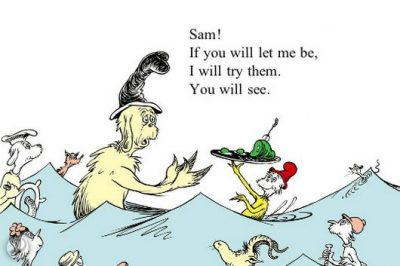 Green Eggs And Ham Picture Quotes