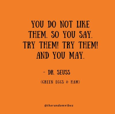 Green Eggs And Ham Quotes Images