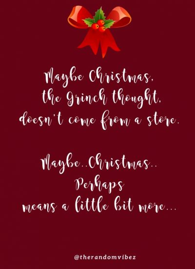 Grinch Christmas Quotes Images
