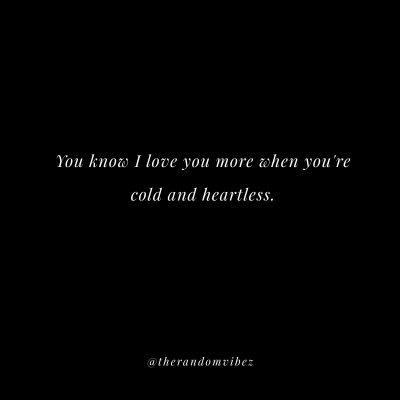 Heartless Emotionless Quotes