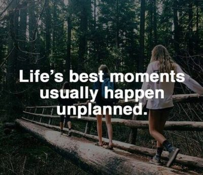 Inspirational Unplanned Trip Images