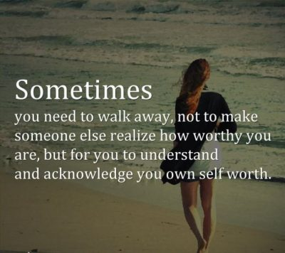 Just Walk Away Picture Quotes