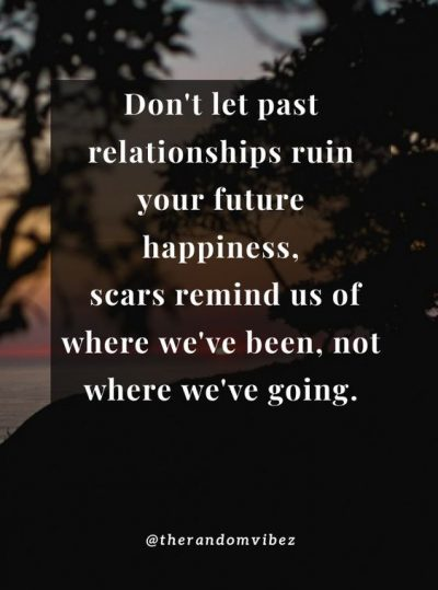 Past And Present Relationship Quotes