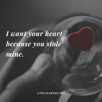 Stole My Heart Quotes Images