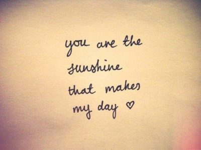 You Are My Sunshine Quotes For Husband