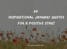 60 Inspirational January Quotes For A Positive Start
