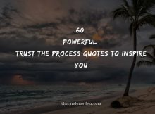 60 Powerful Trust The Process Quotes To Inspire You