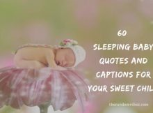60 Sleeping Baby Quotes And Captions For Your Sweet Child