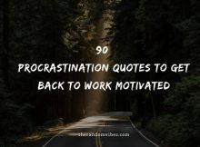 90 Procrastination Quotes And Sayings