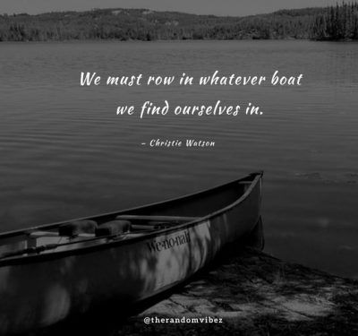Boat Quotes About Life