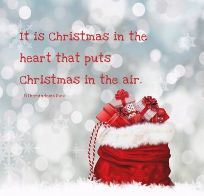 Christmas Positivity Quotes