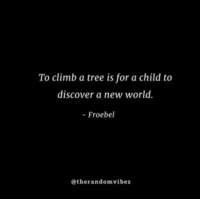 Climbing Trees Quotes Images