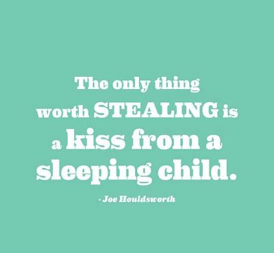Cute Sleeping Baby Quote