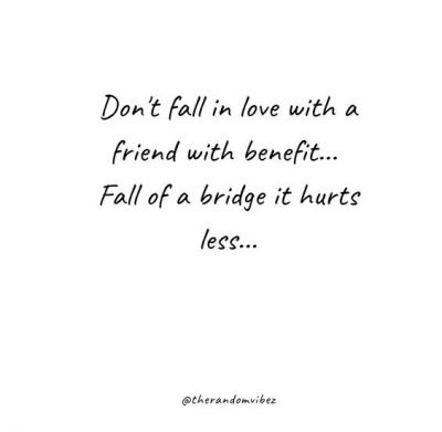 Deep Friends With Benefits Quotes