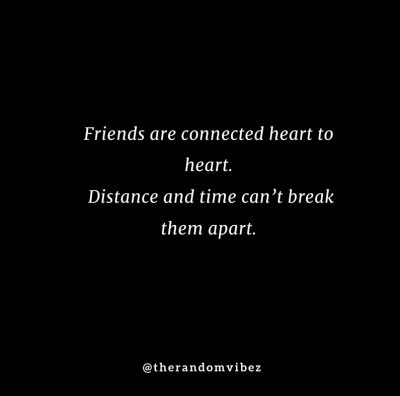 Emotional Long Distance Friendship Quotes
