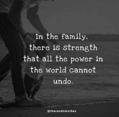 Family Strength Quotes Images