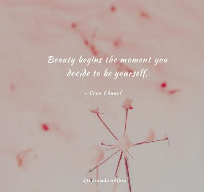 Famous Being Beautiful Quotes