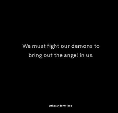 Inner Demons Quotes Images