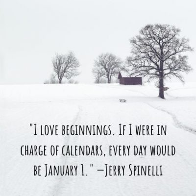 Inspirational January Quotes